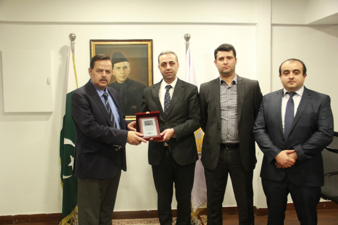 Azerbajan delegation visited Center for Global &Strategic Studies